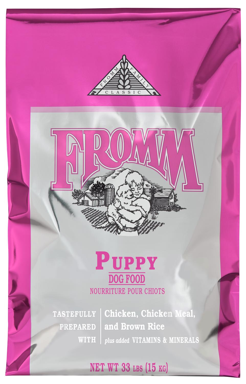 Fromm Classics Puppy Recipe Dry Dog Food, 33-lb Size: 33-lb