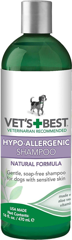 Vet's Best Hypo-Allergenic Shampoo for Dogs, 16-oz bottle