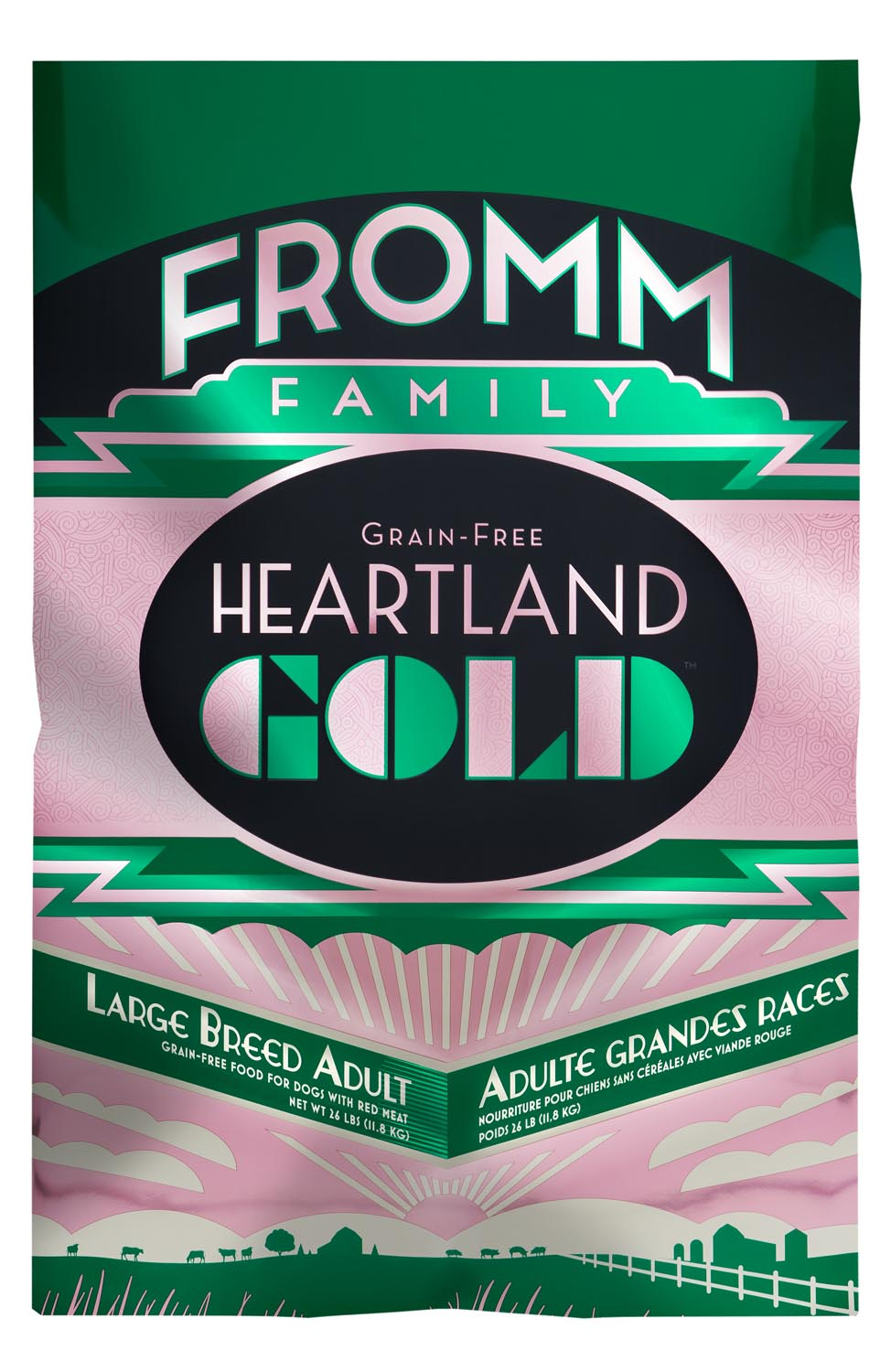 Fromm Heartland Gold Grain Free Large Breed Adult Dry Dog Food, 12-lb