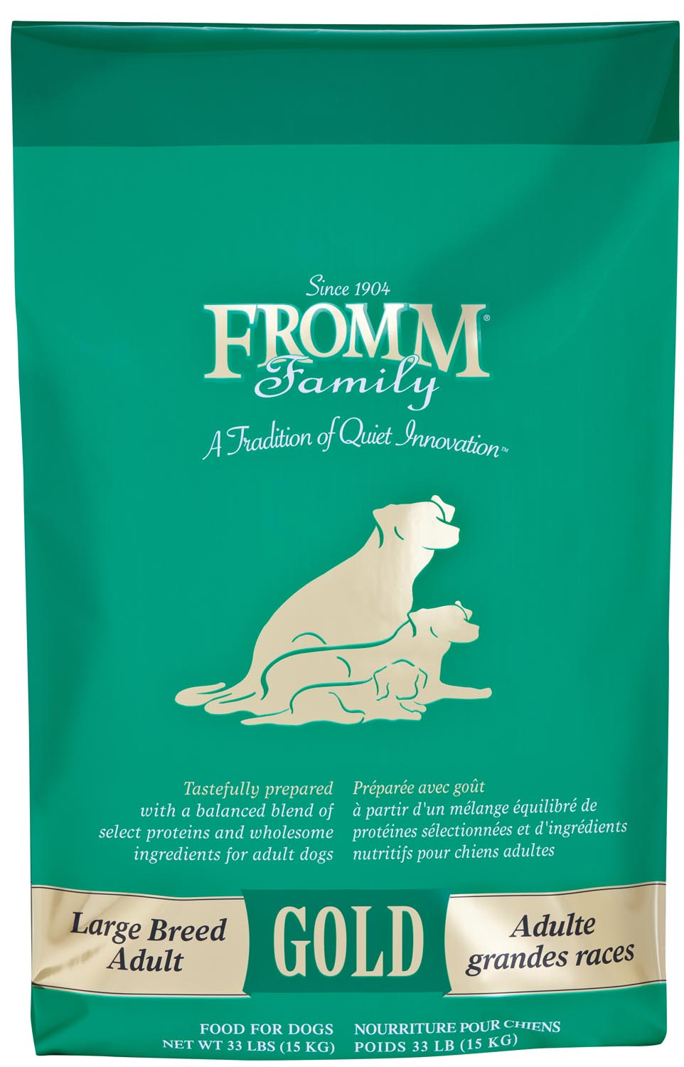 Fromm Gold Large Breed Adult Formula Dry Dog Food, 15-lb