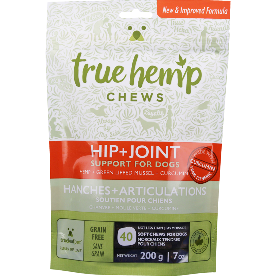True 'HIP + JOINT' Chew for Dogs 7z (Size: 7z) Image