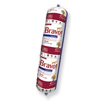 Bravo Balance Beef Chub Roll Raw Frozen Dog Food, 5-lb