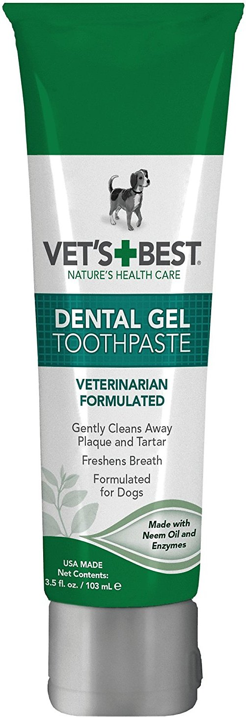 Vet's Best Dental Gel Toothpaste for Dogs, 3.5-oz bottle