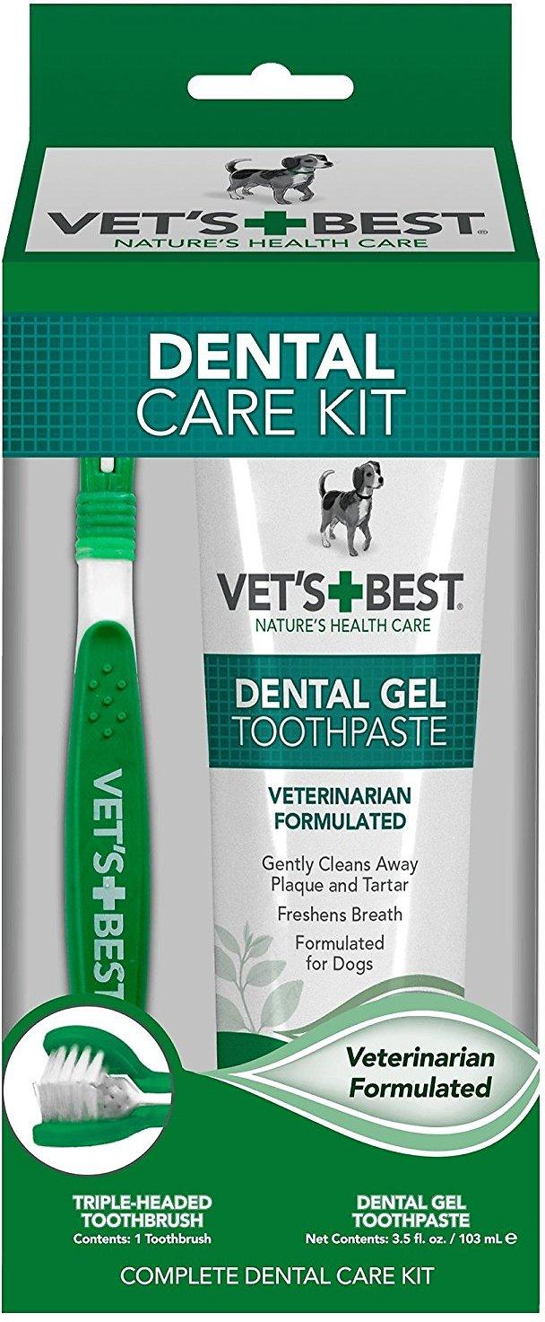 Vet's Best Complete Enzymatic Dog Dental Care Kit