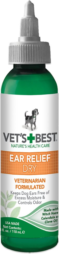 Vet's Best Ear Relief Dry for Dogs, 4-oz bottle