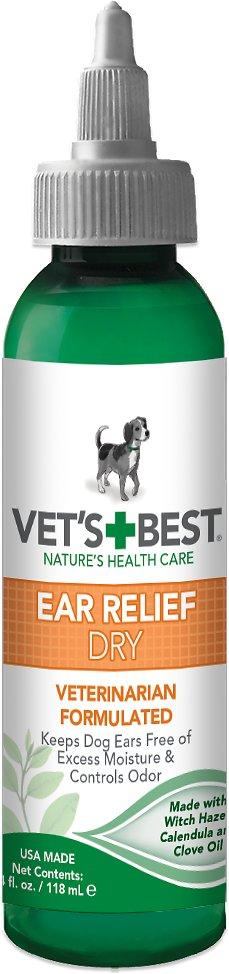 Vet's Best Ear Relief Dry for Dogs, 4-oz bottle Image