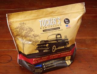 Tucker's Raw Frozen Grain-Free Pork, Beef & Pumpkin Formula Raw Frozen Dog Food, 6-lb (Size: 6-lb) Image