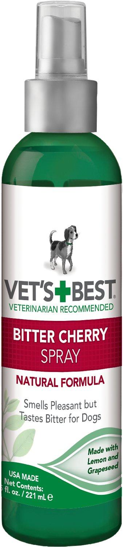 Vet's Best Bitter Cherry Spray for Dogs, 7.5-oz bottle