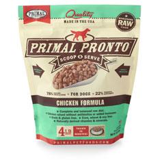 Primal Pronto Raw Chicken Formula Raw Frozen Dog Food Image