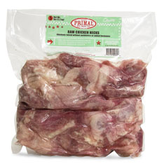 Primal Raw Chicken Necks Raw Frozen Dog Treat Image
