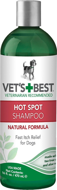 Vet's Best Hot Spot Shampoo for Dogs, 16-oz bottle Image