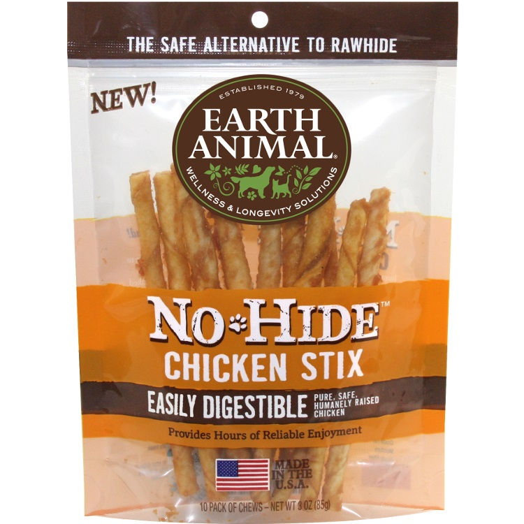 Earth Animal No-Hide Chicken Stix Chew Dog Treat, 10-pk (Size: 10-pk) Image
