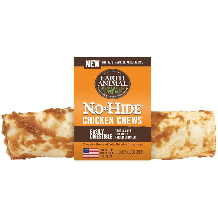 Earth Animal No-Hide Chicken Chew Dog Treat, 7-in