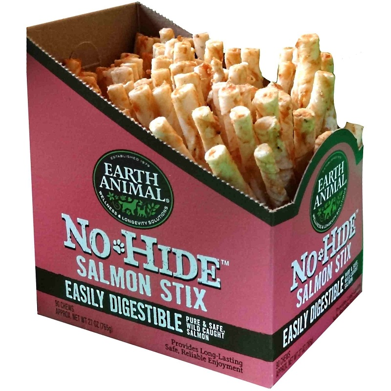 Earth Animal No-Hide Salmon Stix Chew Dog Treat Image