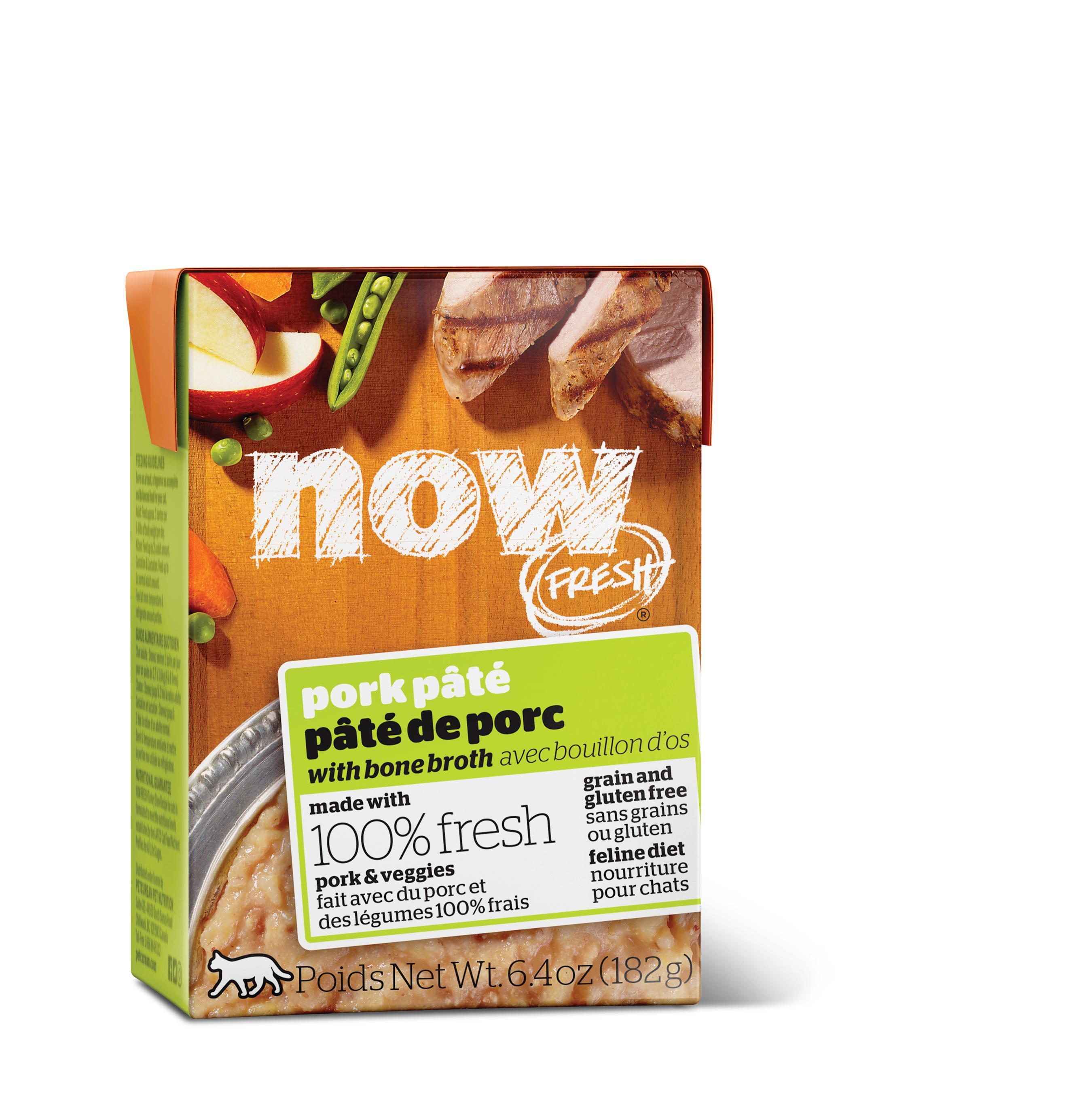 NOW FRESH Pork Pate Grain-Free Wet Cat Food Image