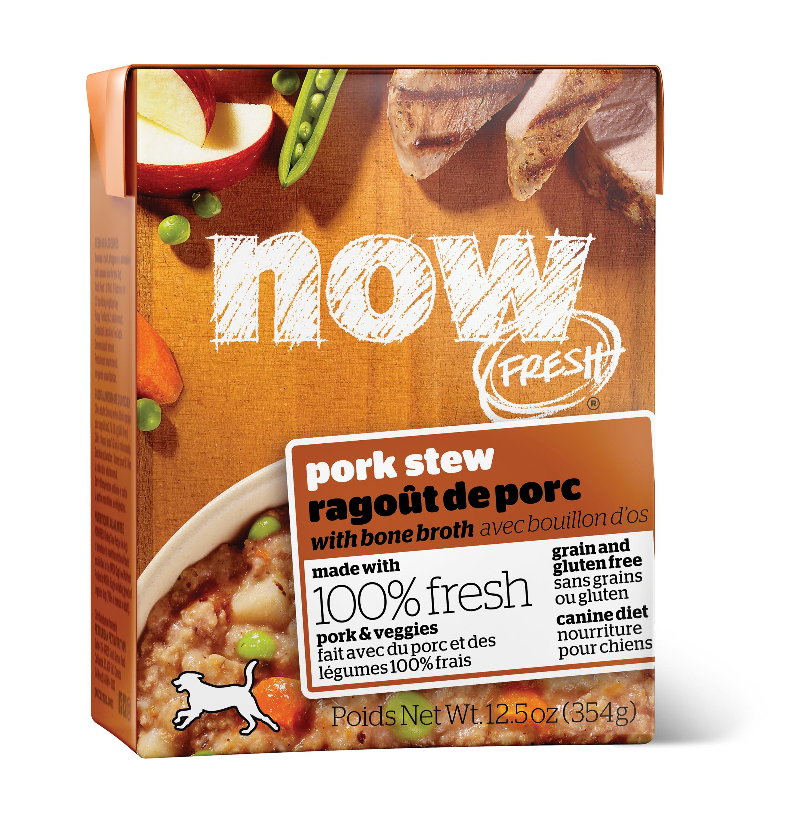 NOW FRESH Pork Stew Grain-Free Wet Dog Food Image