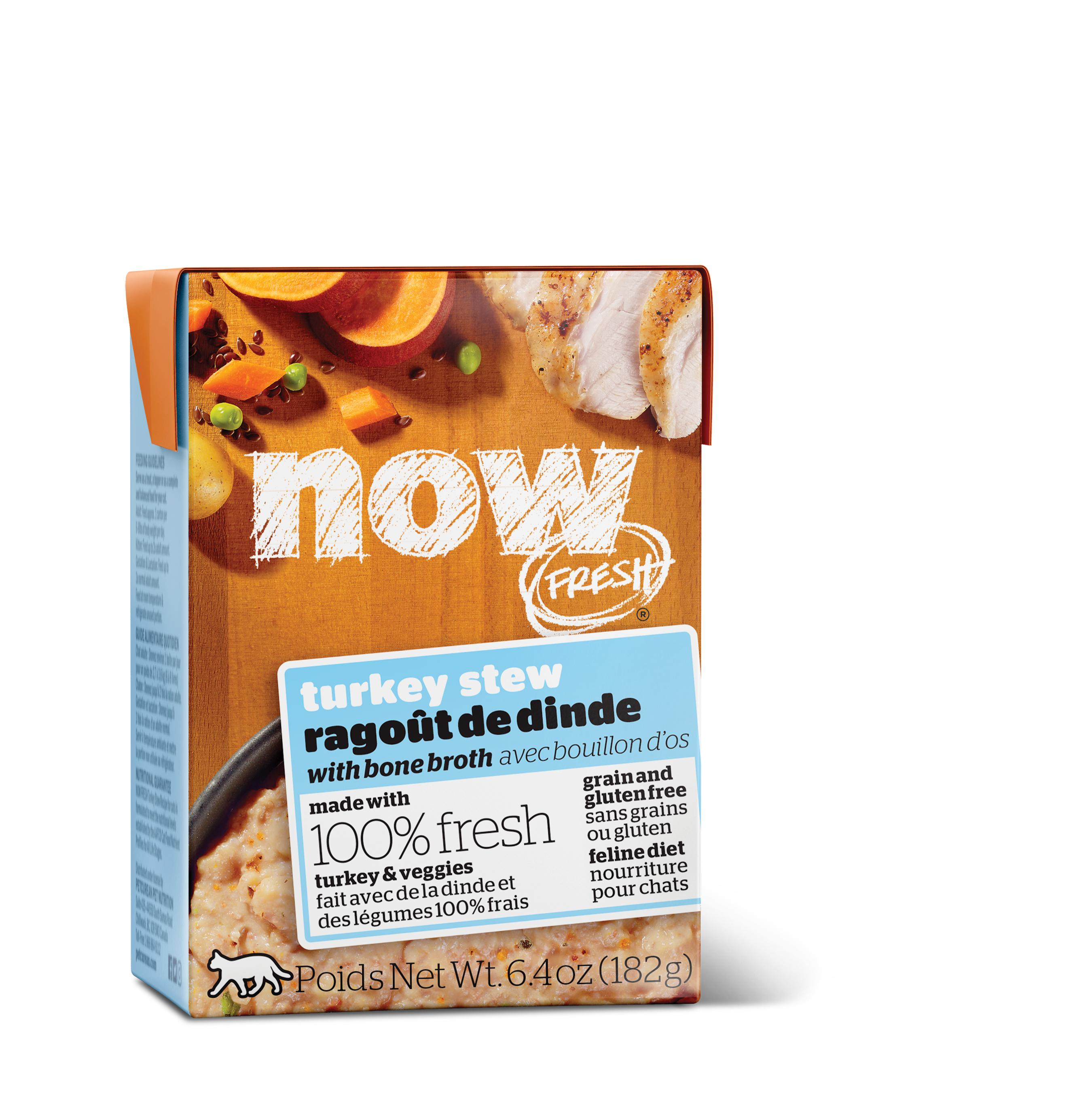 NOW FRESH Turkey Stew Grain-Free Wet Cat Food Image