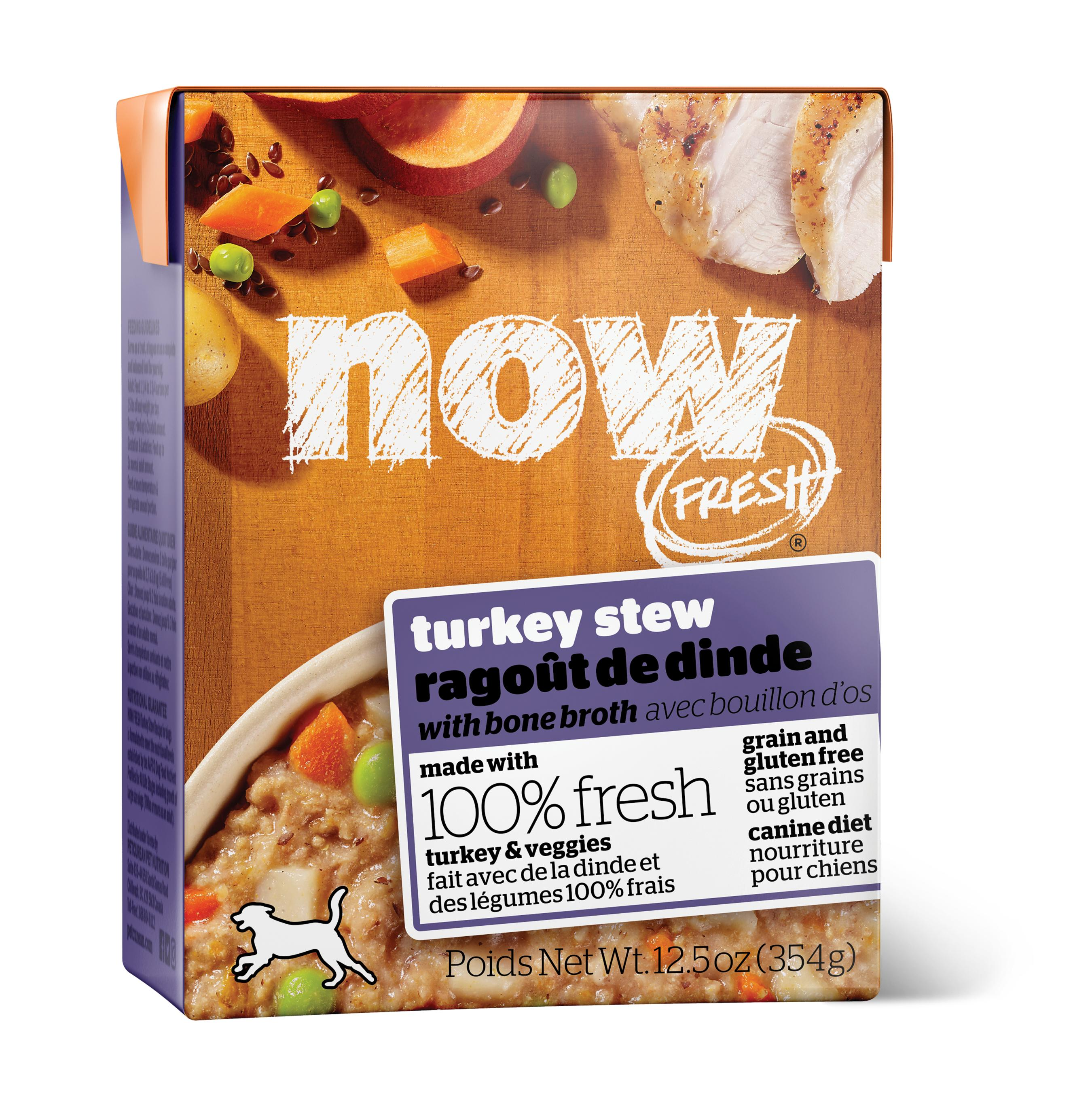 NOW FRESH Turkey Stew Grain-Free Wet Dog Food Image