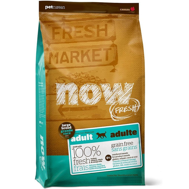 NOW FRESH Grain-Free Large Breed Adult Dry Dog Food, 25lbs (Size: 25lbs) Image