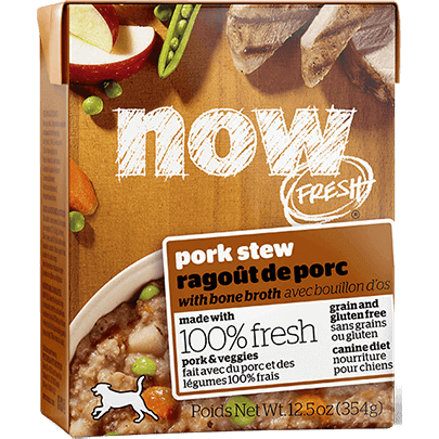 Now Fresh Grain-Free Pork Stew with Bone Broth Wet Dog Food Image