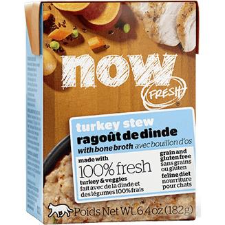 Now Fresh Grain-Free Turkey Stew with Bone Broth Wet Cat Food Image
