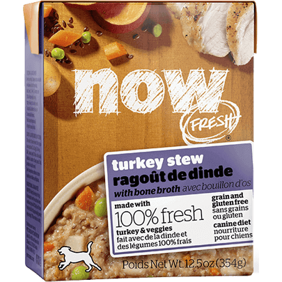 Now Fresh Grain-Free Turkey Stew with Bone Broth Wet Dog Food Image