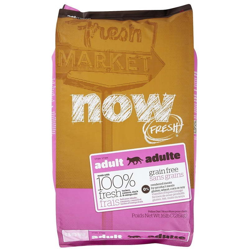 Now Fresh Grain-Free Adult Dry Cat Food Image