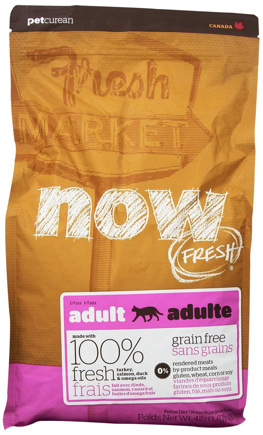 Now Fresh Grain-Free Adult Dry Cat Food, 4lbs