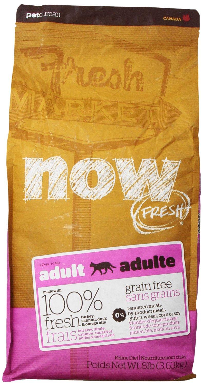 NOW FRESH Grain-Free Adult Dry Cat Food, 8lbs