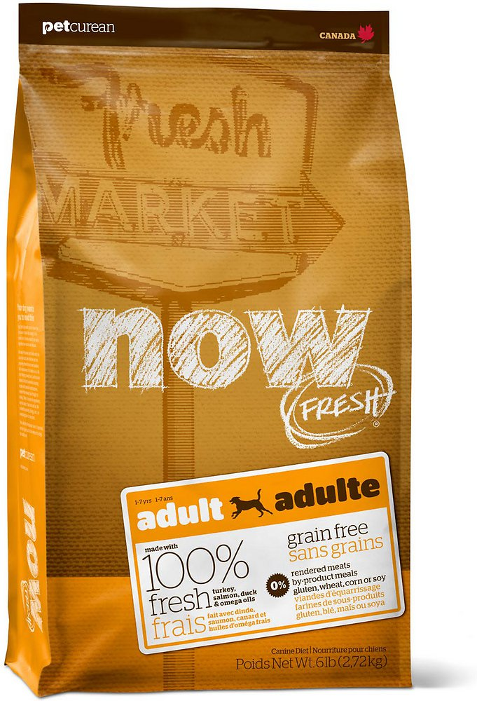 NOW FRESH Grain-Free Adult Dry Dog Food, 6lbs