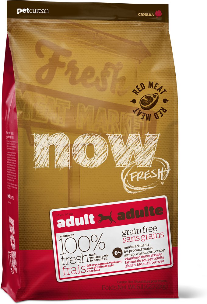 NOW FRESH Grain-Free Adult Red Meat Dry Dog Food Image