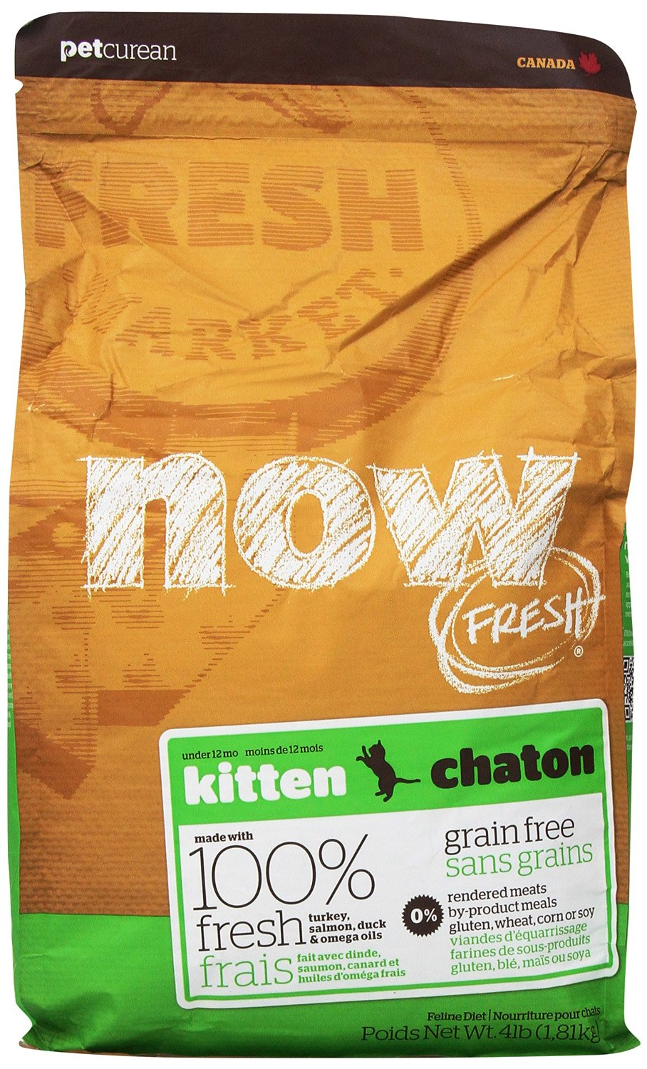 Now Fresh Grain-Free Kitten Dry Cat Food Image
