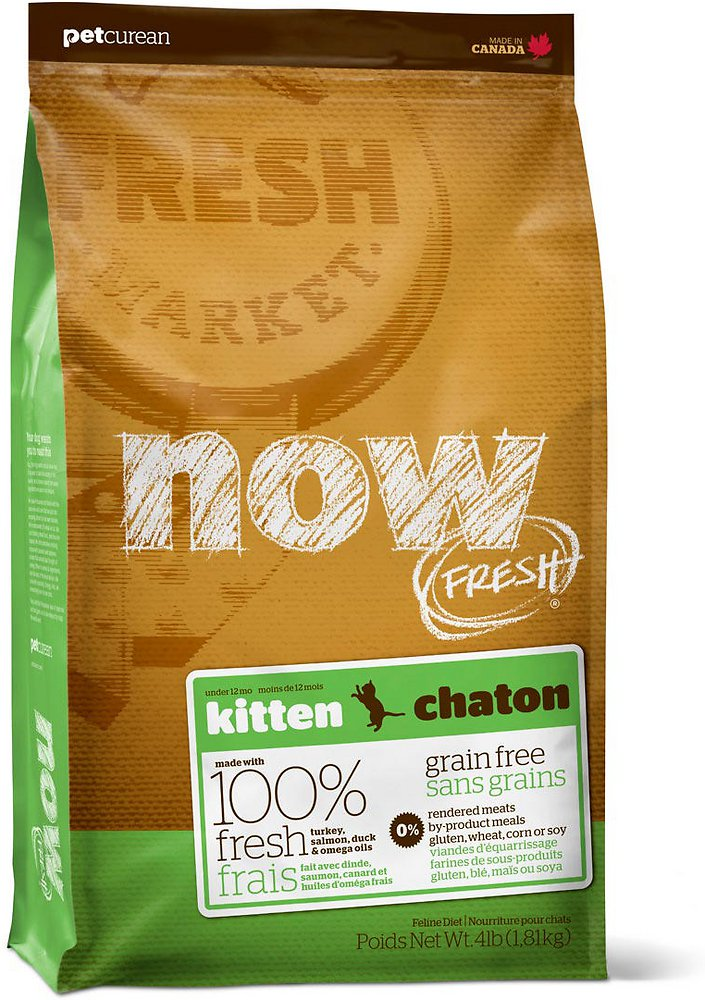 NOW FRESH Grain-Free Kitten Dry Cat Food, 8-lb