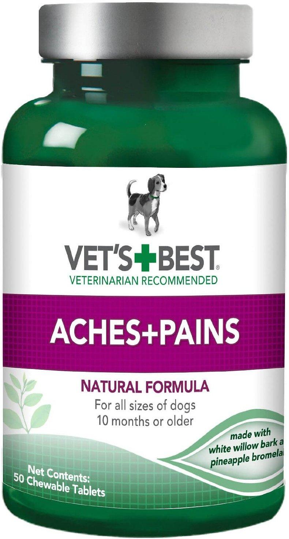 Vet's Best Aches + Pains Dog Supplement, 50 count