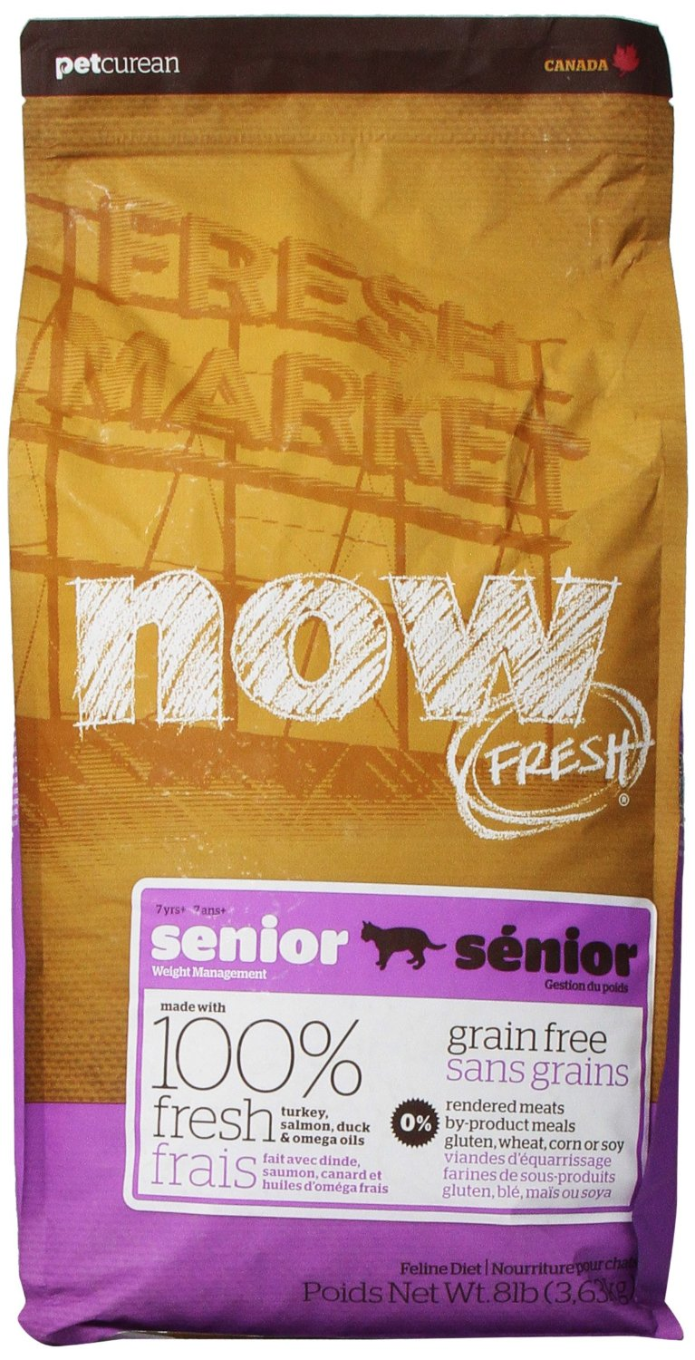 Now Fresh Grain-Free Senior Weight Management Dry Cat Food Image