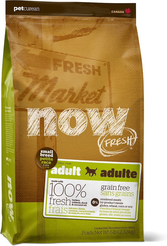 Now Fresh Grain-Free Small Breed Adult Dry Dog Food, 12lbs