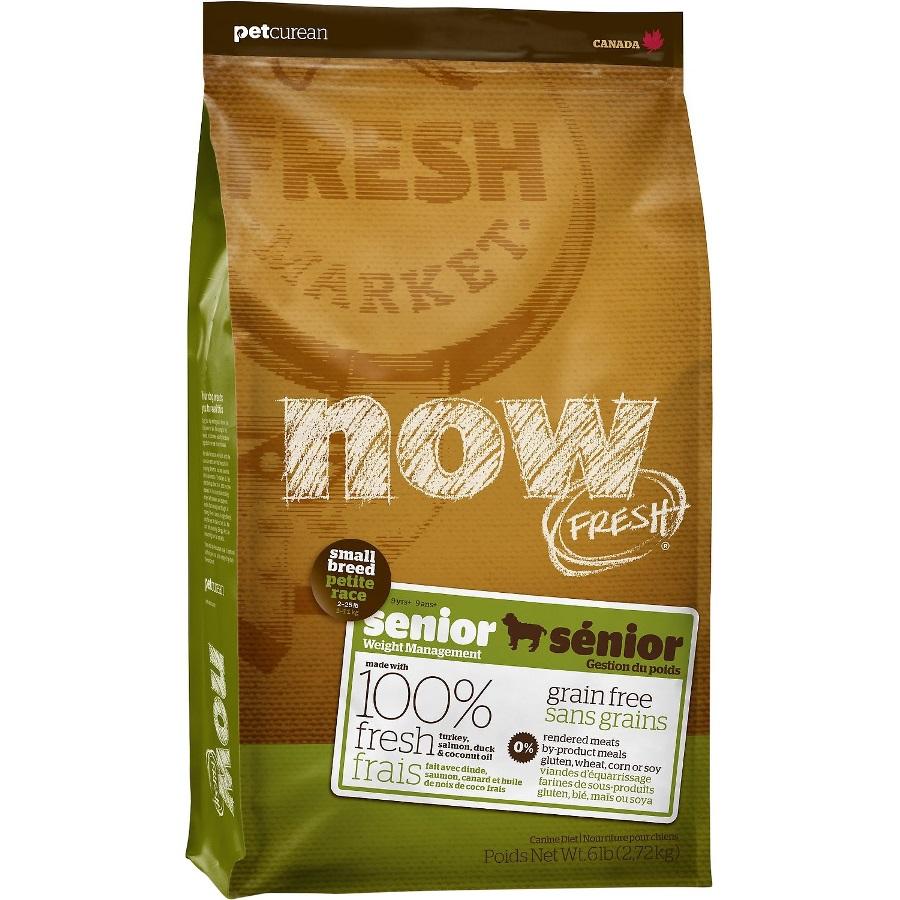 Now Fresh Grain-Free Small Breed Senior Dry Dog Food, 12lbs
