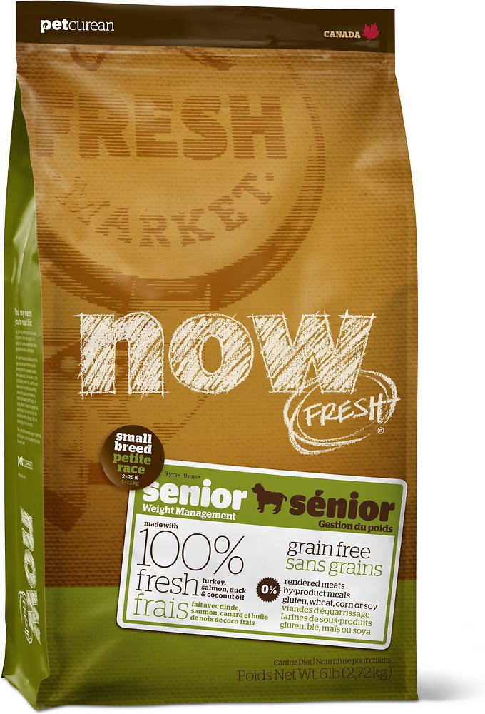 NOW FRESH Grain-Free Small Breed Senior Dry Dog Food Image