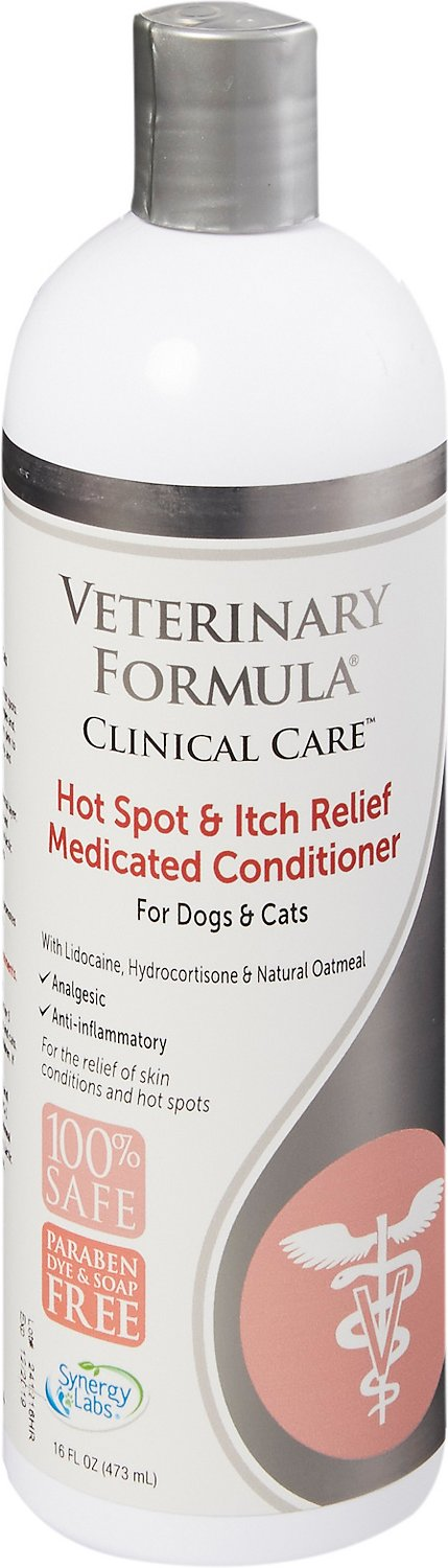 Veterinary Formula Clinical Care Hot Spot & Itch Relief Conditioner, 16-oz bottle