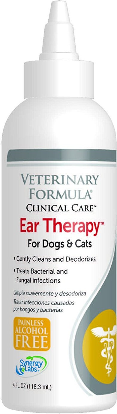 Veterinary Formula Clinical Care Ear Therapy, 4-oz bottle