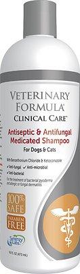 Veterinary Formula Clinical Care Antiseptic & Antifungal Shampoo, 16-oz bottle