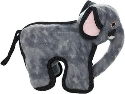 Tuffy's Emery Elephant Dog Toy, Junior