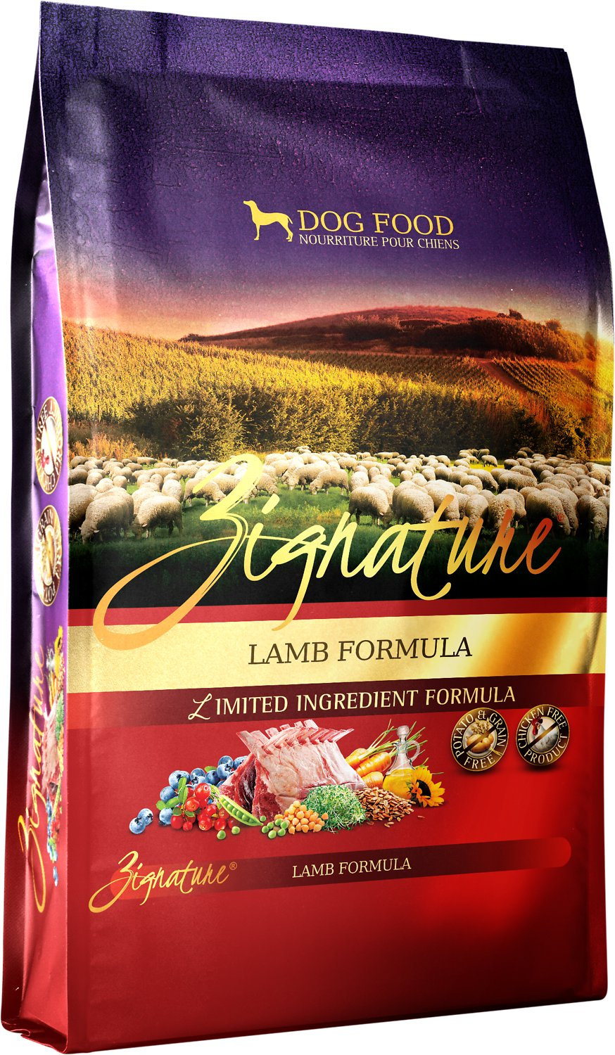 Zignature Lamb Limited Ingredient Formula Grain-Free Dry Dog Food Image