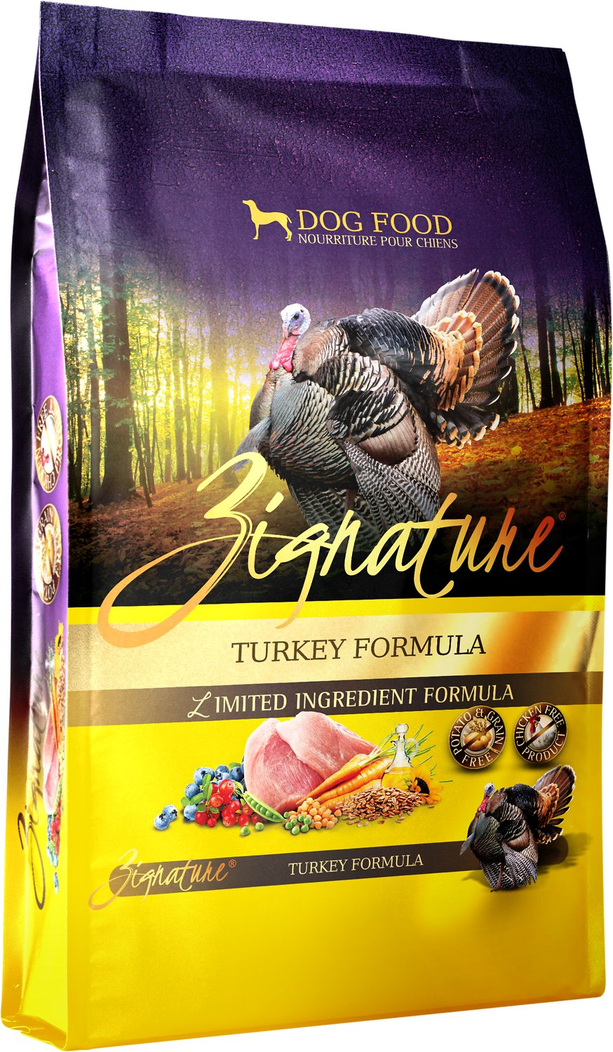 Zignature Turkey Limited Ingredient Formula Grain-Free Dry Dog Food Image