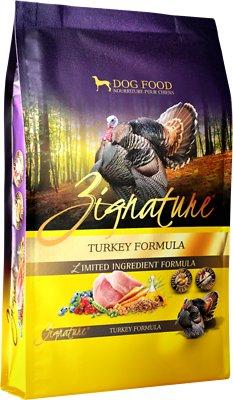 Zignature Turkey Limited Ingredient Formula Grain-Free Dry Dog Food, 4-lb bag