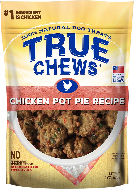 True Chews Premium Chicken Pot Pie Recipe Dog Treats, 12-oz bag (Weights: 12ounces) Image