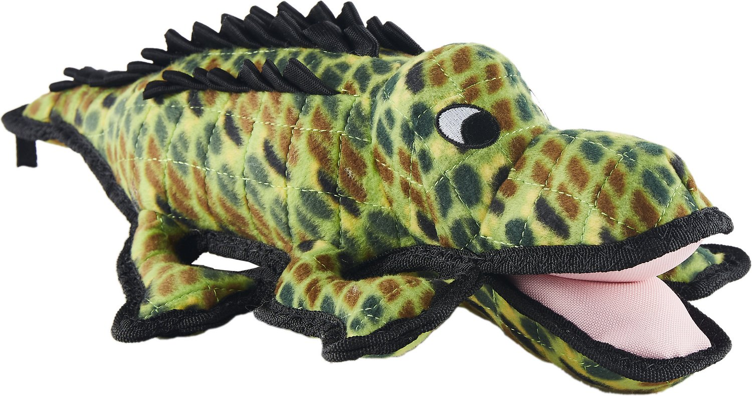 Tuffy's Ocean Creatures Gary Gator Dog Toy Image