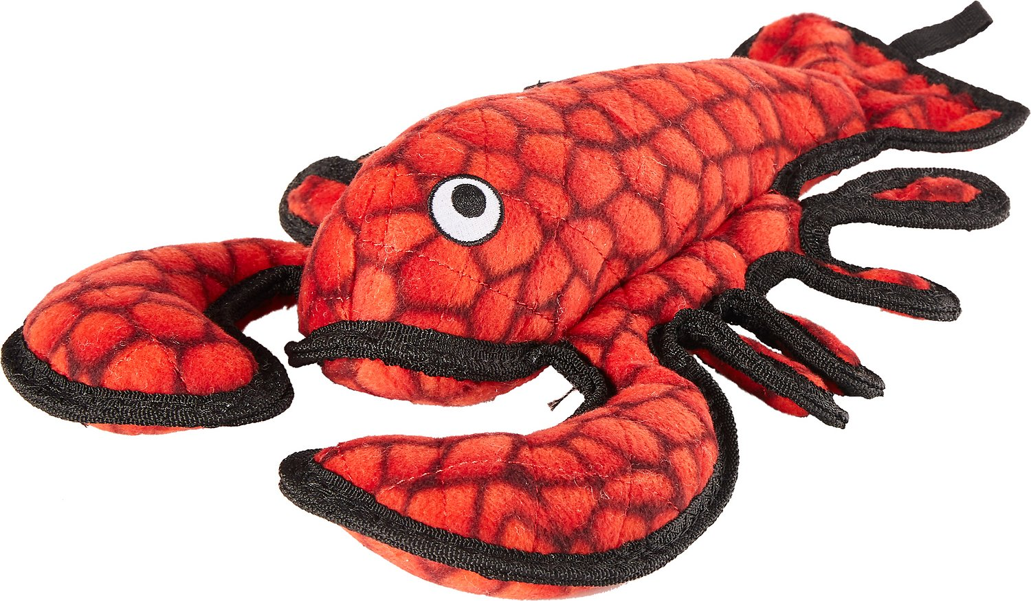 Tuffy's Ocean Creatures Larry Lobster Dog Toy, Regular