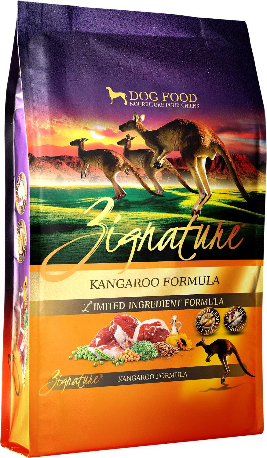 Zignature Kangaroo Limited Ingredient Formula Grain-Free Dry Dog Food Image
