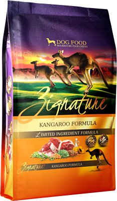 Zignature Kangaroo Limited Ingredient Formula Grain-Free Dry Dog Food, 25-lb bag